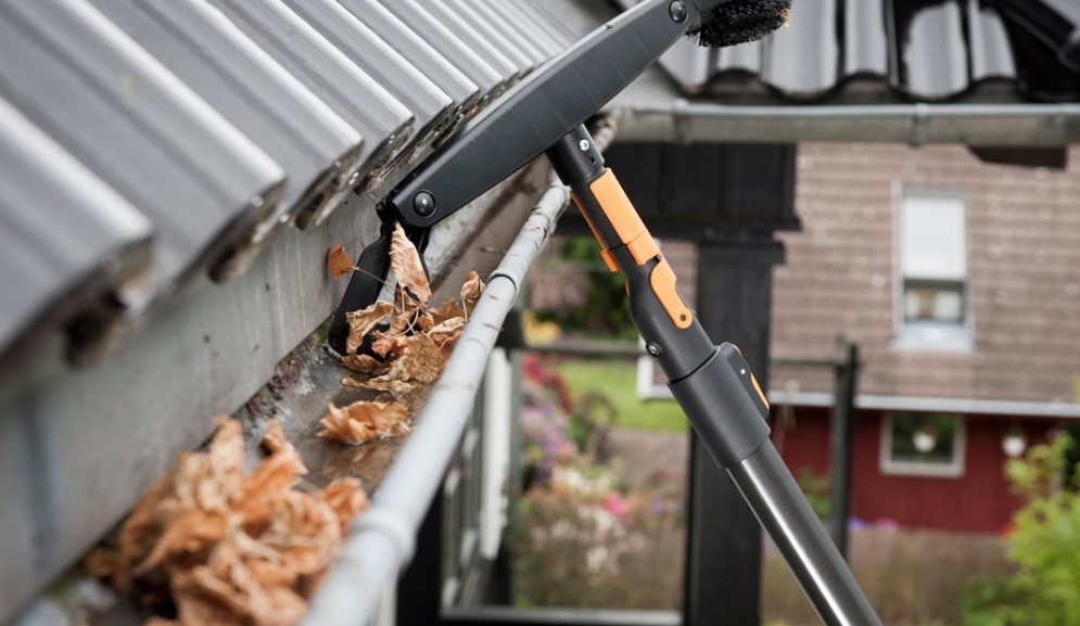 keep roof and gutters clean for clean rain water