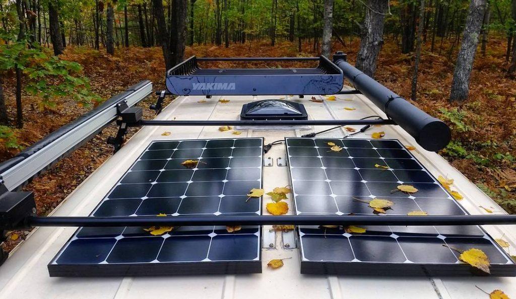 how many solar panels does my rv need