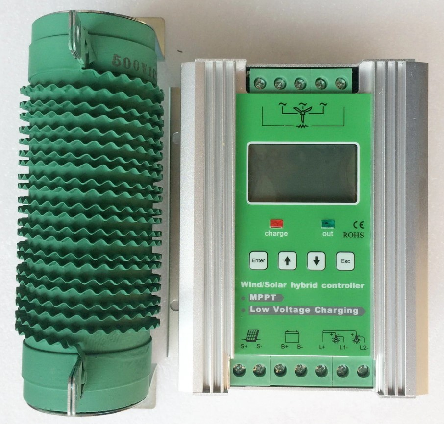 wind and solar hybrid charge controller