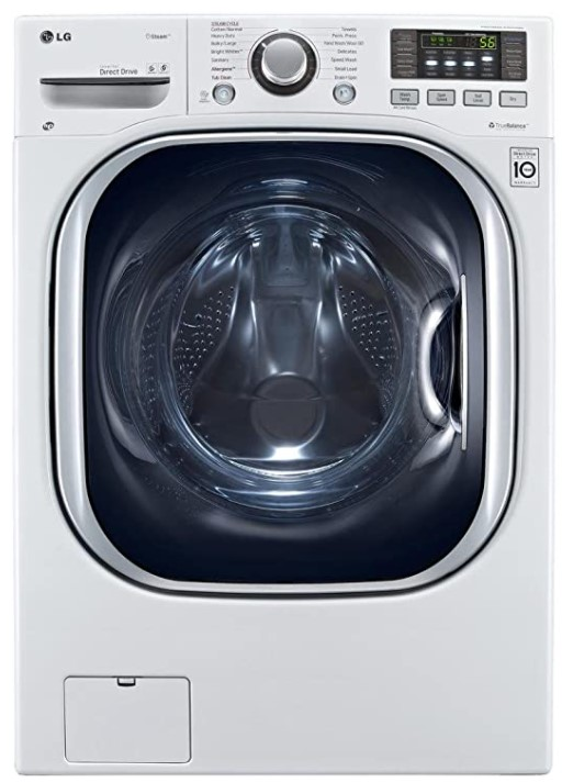 LG WM3997HWA Ventless Capacity Steam Washer