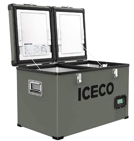 ICECO VL60 Dual Zone Portable Refrigerator